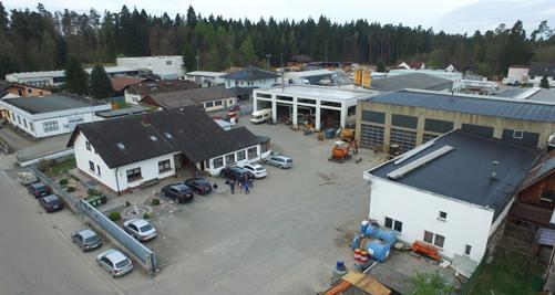 Die Firma Plannerer Bau GmbH - Das Gelände